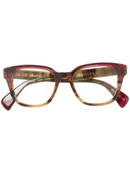Paul Smith 'Hether' Glasses Red