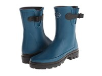 Le Chameau Vierzon Ld Low Peacock Blue Women's Boots