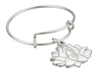 Alex And Ani Precious Expandable Wire Ring Silver Lotus Peace Petals Ring