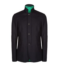Paul Smith London Casual Travel Jacket Male Navy