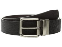 Bill Adler 1981 38Mm Reversible Flat Strap Black Brown Men's Belts