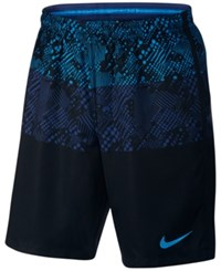 Nike Men's Dry Graphic Soccer Shorts Deep Royal Multi