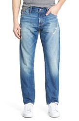 Men's Jean Shop 'Rocker' Straight Fit Jeans Ocean