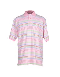 Faconnable Topwear Polo Shirts Men Pink