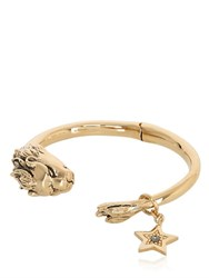 Roberto Cavalli Lion Bracelet With Star Charm