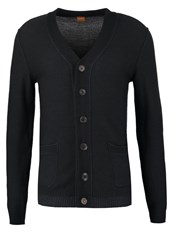 Boss Orange Arreb Cardigan Dark Grey