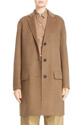 Women's Sofie D'hoore 'Click' Wool And Cashmere Long Coat