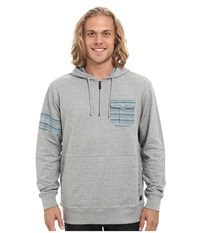 O'neill Double Up Pullover Grey Men's Long Sleeve Pullover Gray