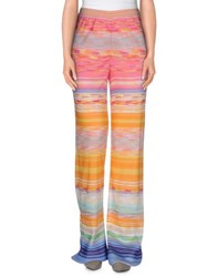 Missoni Trousers Casual Trousers Women Pink