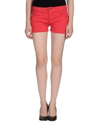 Franklin And Marshall Denim Shorts Fuchsia