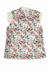 Erdem Women S Mica Embroidered Top Boutique1 Multi