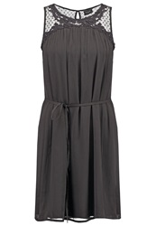 Vila Vibelle Summer Dress Phantom Dark Gray