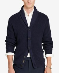 Polo Ralph Lauren Men's Shawl Collar Cardigan Hunter Navy