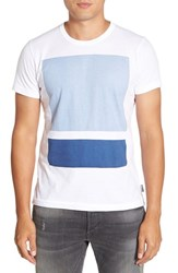 French Connection Men's 'Chassis' Graphic T Shirt