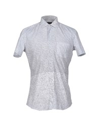 Lab. Pal Zileri Shirts Shirts Men Light Grey