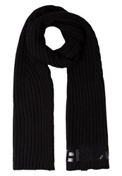 Replay Scarf Black