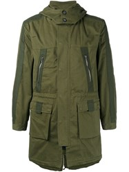 Lot 78 Lot78 Hooded Parka Green