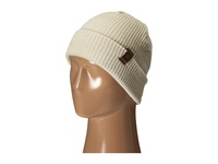 686 Big Up Slouch Beanie Ivory Knit Hats White