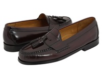 Cole Haan Pinch Tassel Burgundy Men's Slip On Dress Shoes