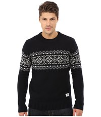 Penfield Hickman Snowflake Crew Navy Men's Sweater