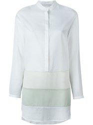 Fabiana Filippi Panelled Shirt White
