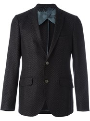 Etro Dotted Pattern Blazer Multicolour