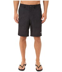 Tommy Bahama Cayman Fairweather Fronds 9 Inch Swim Trunk Black Men's Swimwear