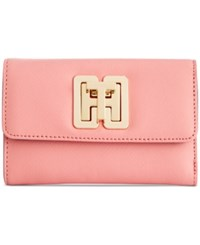 Tommy Hilfiger Th Turnlock Wallet Coral