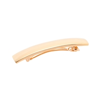 J.Crew Wide Metallic Barrette Metallic Gold