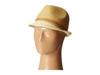 San Diego Hat Company Ubf1012 Fedora W Suede Band And Gold Beads Camel Fedora Hats Tan