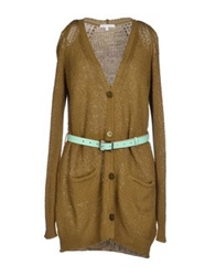 Patrizia Pepe Cardigans Military Green