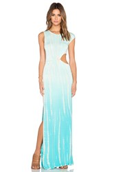 Young Fabulous And Broke Sia Maxi Dress Turquoise