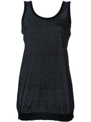 Givenchy Fine Knit Tank Top Black