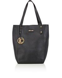 Just Cavalli Women's Leather Tote Black