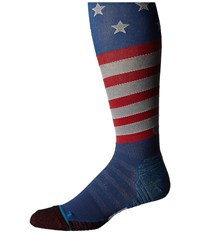 Stance Slanty Otc Blue Men's Knee High Socks Shoes