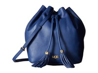 Ugg Rae Bucket Racing Stripe Blue Handbags
