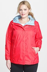 Plus Size Women's Columbia 'Arcadia' Hooded Waterproof Rain Jacket