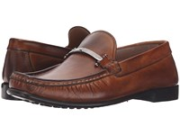 Kenneth Cole Zone In A Cognac Men's Slip On Shoes Tan