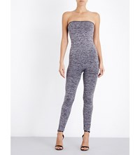 Wolford Fatale Stretch Jersey Leggings Dark Grey Melange