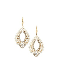 Fragments For Neiman Marcus Fragments Pearly Layered Drop Earrings