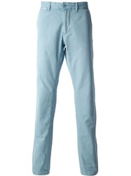 Woolrich Straight Leg Chinos Blue