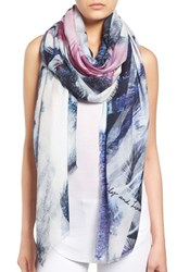 Lily And Lionel Women's Lily And Lionel 'Regents' Modal And Silk Scarf