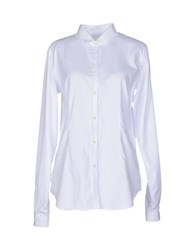 M.Grifoni Denim Shirts Shirts Women White
