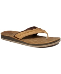 Reef Marbea Thong Sandals Men's Shoes Bronze Brown