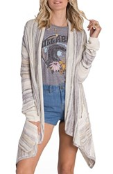 Billabong Women's Beach Ramblin' Stripe Cardigan