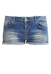 Ltb Judie Denim Shorts Calissa Wash Blue Denim