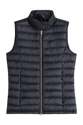Closed Down Vest Blue