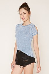 Forever 21 Burnout Knit Tee