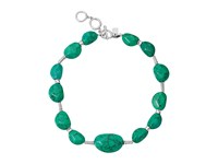 Robert Lee Morris Turquoise Stone Frontal Necklace Turquoise Necklace Blue