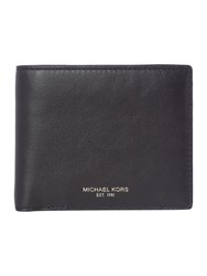 Michael Kors Owen Smooth Leather Coin Pocket Wallet Black